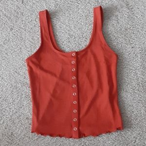 Forever 21 Ribbed Tank Top